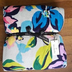 Vera Bradley Throw Blanket Marian Floral